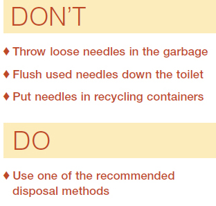 Do's and Don'ts of Disposal