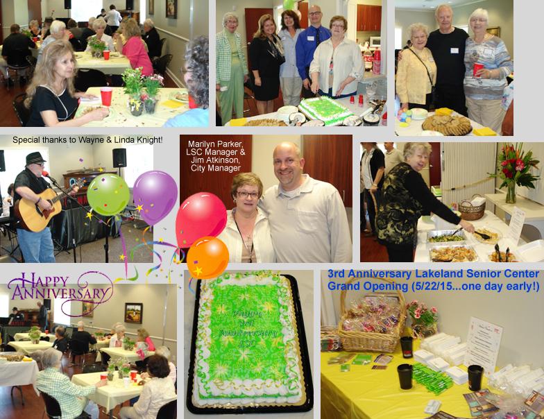 Lakeland, TN - Official Website - Senior Special Events