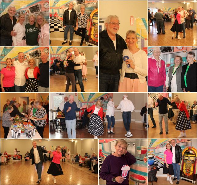 Seniors Dinner and Sock Hop